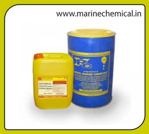 BIOCIDE for Closed Loop chilled water 210 Ltrs | Marine Chemicals
