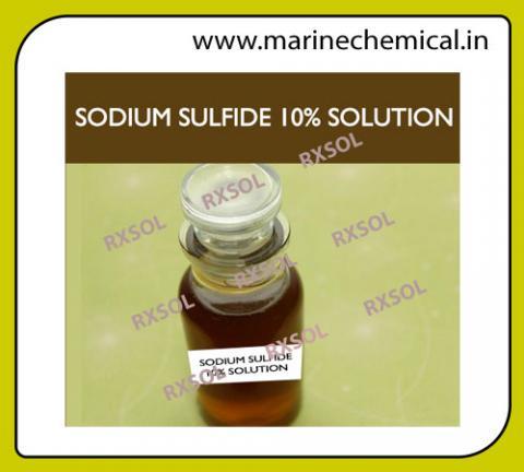 Sodium Sulfide 10% Solution | Marine Chemicals